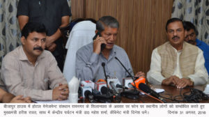 chief minister of uttarakhand mr harish rawat