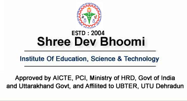 logo of shree dev bhoomi institute dehradun